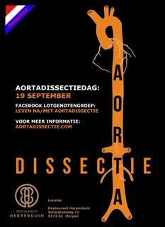 Aortadissectiedag 19 september 2018.